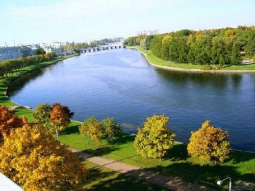 Krestovsky Island in St. Petersburg