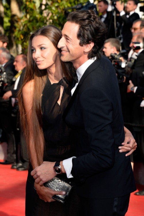 Lara Lieto and Adrian Brody. Russian wives of western celebrities