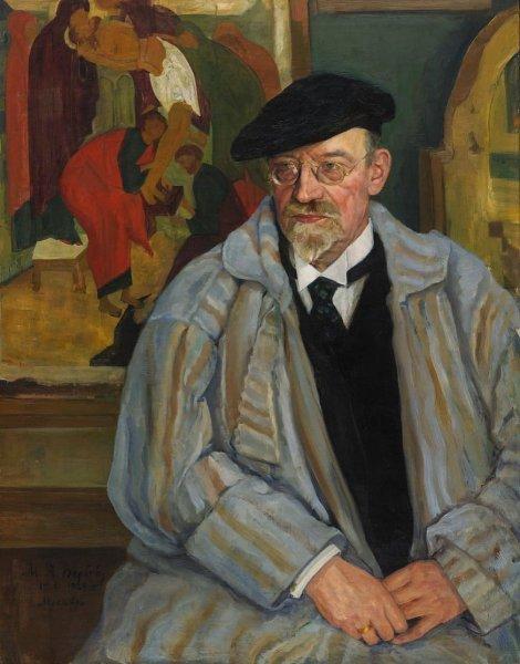 M. A. Verbov Portrait of I. S. Ostroukhov