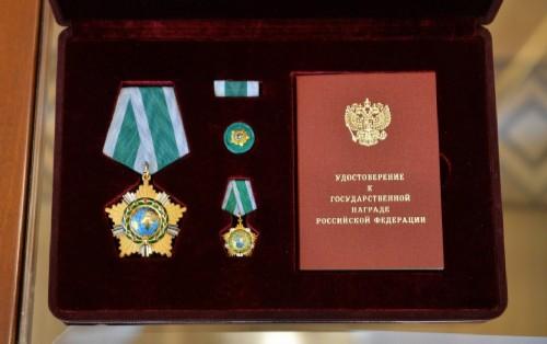 Modern version of the Order of Friendship, XXI century 2