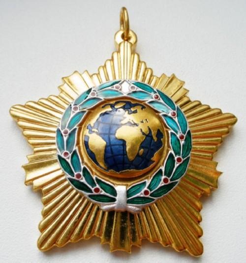 Modern version of the Order of Friendship, XXI century