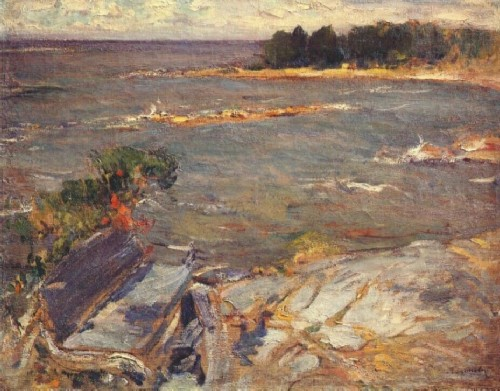 Abram Arkhipov. North Sea. Oil on canvas 71 x 90. Tula Museum of Fine Arts. Tula, Russia