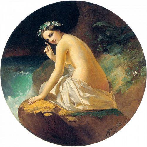 Nymph. 1869. Henryk Siemiradzki