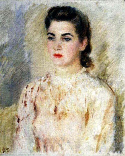 Vladimir Lebedev. Portrait of T. Makarova 1943