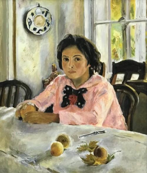 Portrait of Vera Mamontova