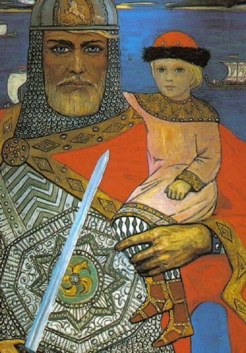 Prince Oleg and Igor