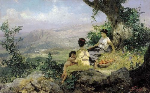 Rest (Selyanka). 1890. Henryk Siemiradzki