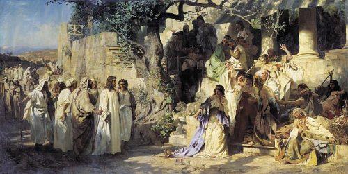 Sinner. 1873. Henryk Siemiradzki