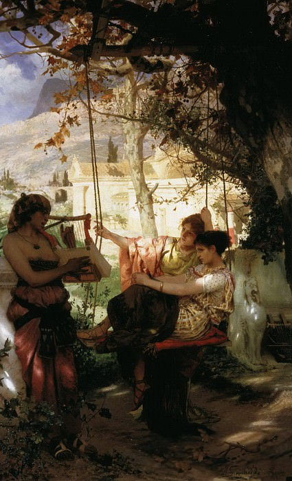 Henryk Siemiradzki. Slave song. 1884