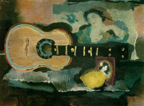 Still life with a guitar 1930, Tula Museum