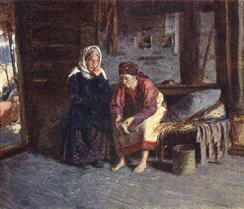 Visiting the Sick. 1885. Oil on canvas State Tretyakov Gallery, Moscow, Russia
