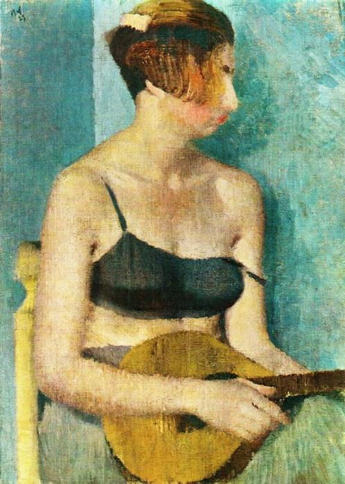 Woman with Mandolin 1927