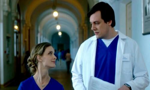 Danila Dunaev and Svetlana Ivanova in the film