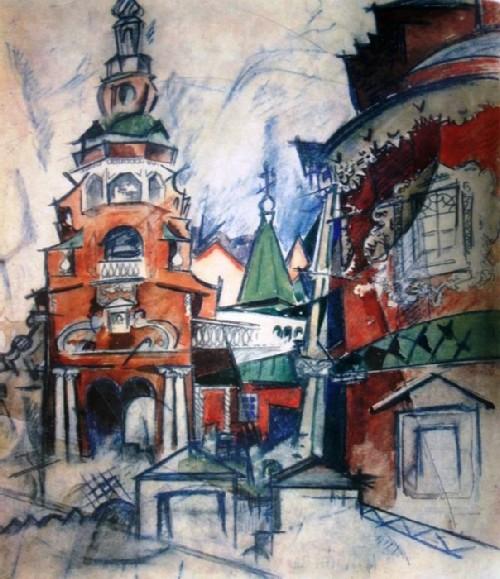 Fili. Kutuzov Church 1921