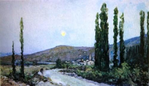 Alexander Kuprin Beasal Valley. Crimea 1937