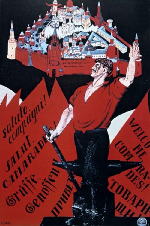 Long live the Third International, 1921.