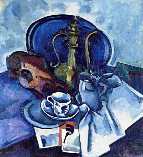 Still life with a pipe 1917