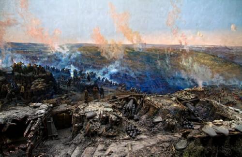 Panorama Defense of Sevastopol. The right flank of the Senyavin battery