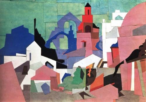 Urban architectural motive. 1922