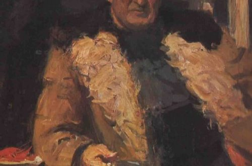 Victor Tsyplakov. Painting Georgy Nyssa, 1978