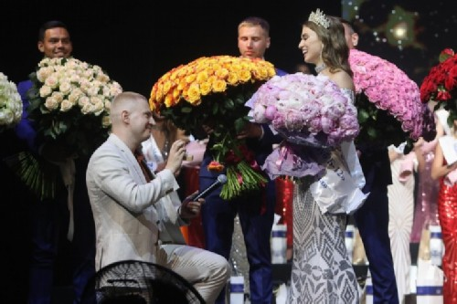 Panteleeva received a marriage proposal