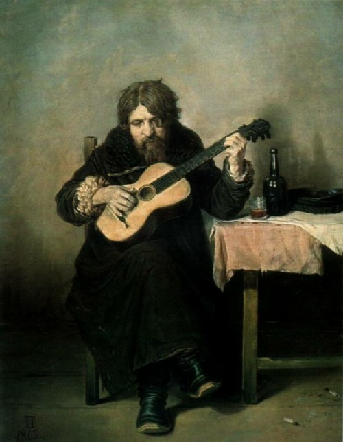 damage and theft of exhibits from Russian museums. The abduction of two works by Vasily Perov