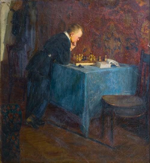 Chess problem. Fedor Reshetnikov