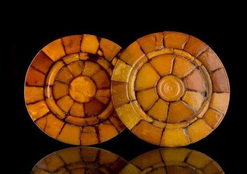 Decorative plates 17th century Germany.