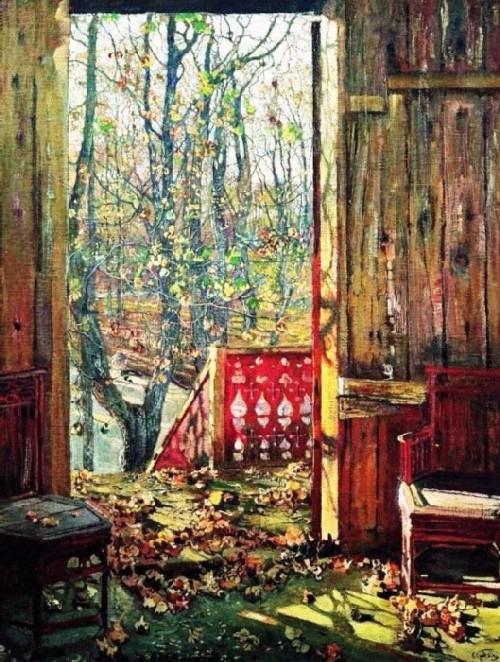 Fallen leaves, 1915