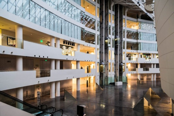 Inside the Yeltsin Center