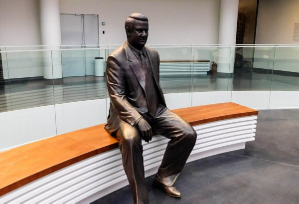 Monument to Boris Yeltsin