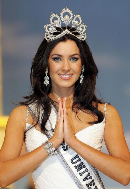 Russian women winners of international beauty contests, Natalia Glebova