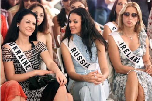 Russian women winners of international beauty contests?