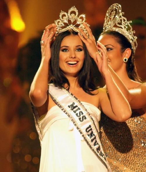 Russian women winners of international beauty contests, Oksana Fedorova