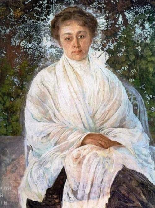 Portrait of M.F. Andreeva, 1910