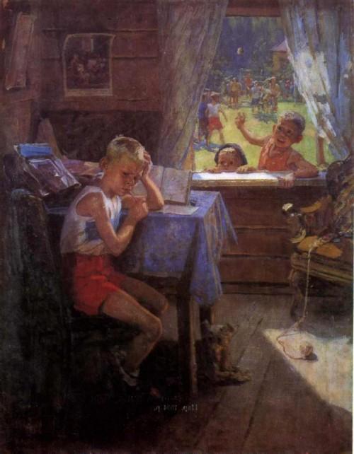 Re-examination 1954. Horlivka City Art Museum, Donetsk region.