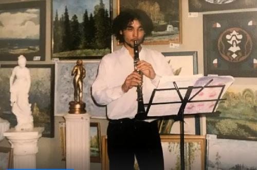 Serdar Kambarov in his youth