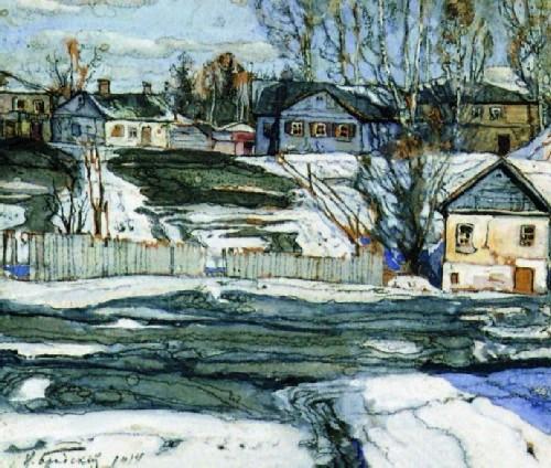 Isaac Brodsky, Spring, 1914