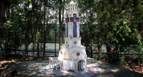 Crimea in miniature, Temple-lighthouse of St. Nicholas of Mirliki