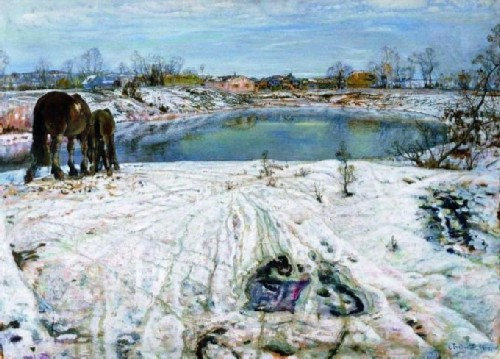 Isaac Brodsky, Thaw, 1910