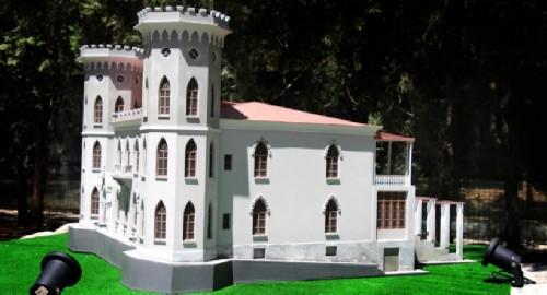 Crimea in miniature, Yasnaya Polyana Castle
