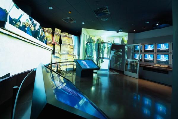 Yeltsin Museum. Ground floor