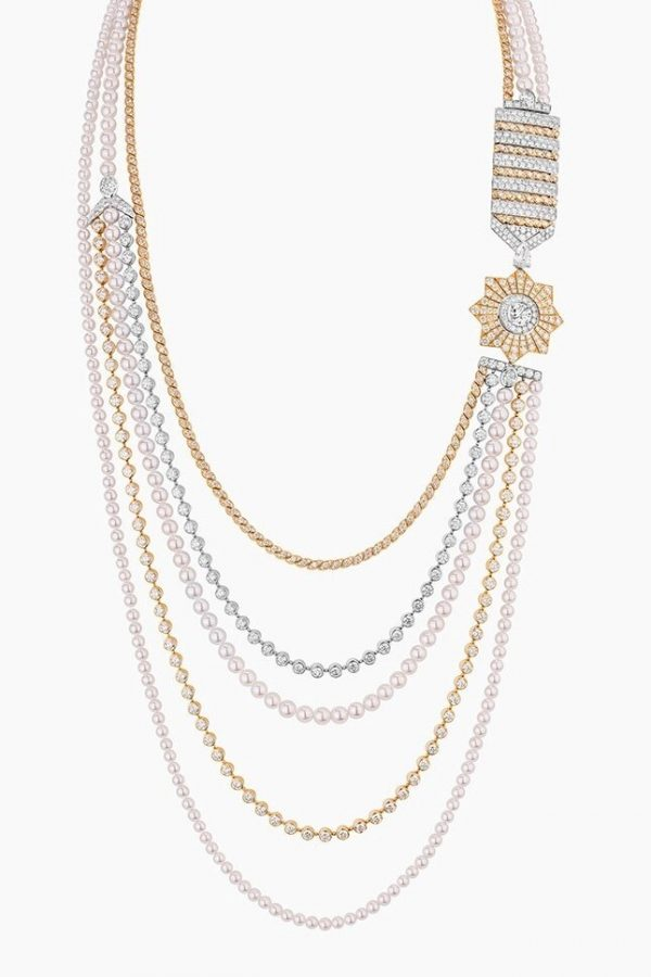Chanel Russian collection. Necklace Médaille Solaire