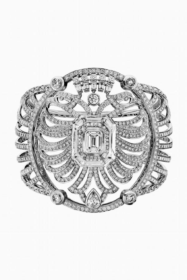 Wide bracelets were Gabrielle Chanel's favorite piece of jewelry.